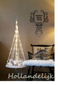 De brocante kerstboom