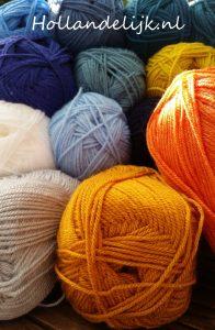 Garen in verschillende kleuren